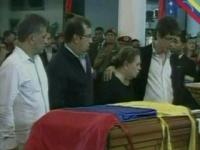 News video: Venezuela's Hugo Chavez's open casket lies in state